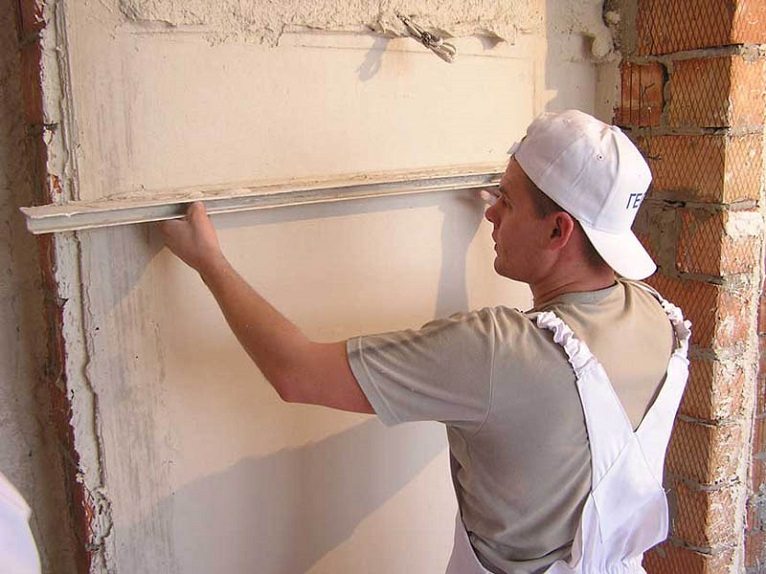 штукатурка стен в Москве цена