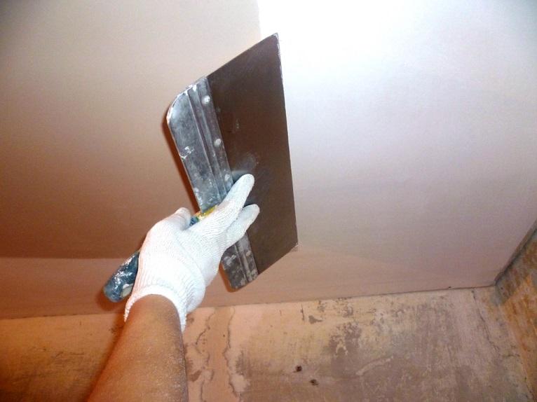 ремонт потолка, цена в Москве